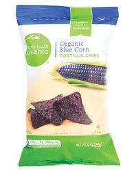 Tortilla Chips, Simple Truth Organic™ Blue Corn Tortilla Chips (9 oz Bag)