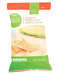 Tortilla Chips, Simple Truth Organic™ White Corn Tortilla Chips (9 oz Bag)