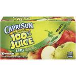 Apple Juice, Capri Sun® 100% Apple Juice, Single 6 oz Packet