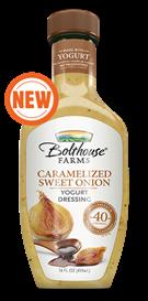 Salad Dressing, Bolthouse Farms® Caramelized Sweet Onion, 14 oz Bottle