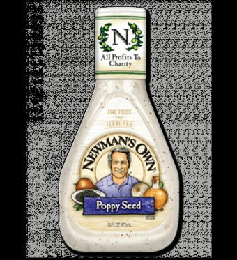 Salad Dressing, Newman's Own® Poppy Seed Salad Dressing (16 oz Bottle)