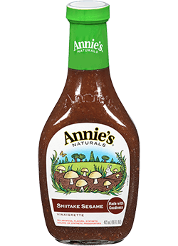 Salad Dressing, Annie's® Shiitake Sesame Salad Dressing, Organic (8 oz Bottle)