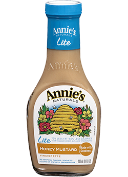 Salad Dressing, Annie's® Honey Mustard Vinaigrette Dressing, Lite (16 oz Bottle)