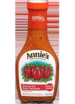Salad Dressing, Annie's® Roasted Red Pepper Dressing (8 oz Bottle)