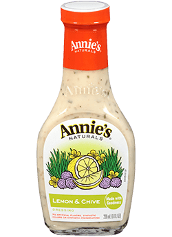 Salad Dressing, Annie's® Lemon Chive Dressing (8 oz Bottle)