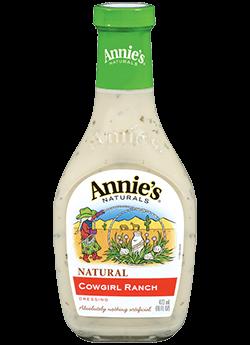 Salad Dressing, Annie's® Cowgirl Ranch Dressing (16 oz Bottle)