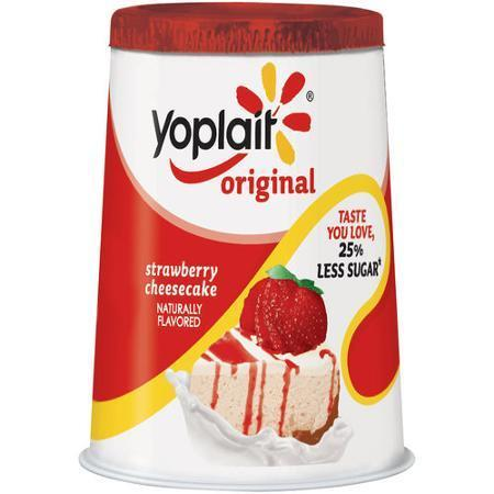 Yogurt, Yoplait® Original Strawberry Cheesecake Yogurt (6 oz Cup)