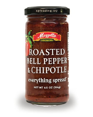 Spread, Mezzetta® Roasted Bell Pepper and Chipotle, 6.5 oz Jar