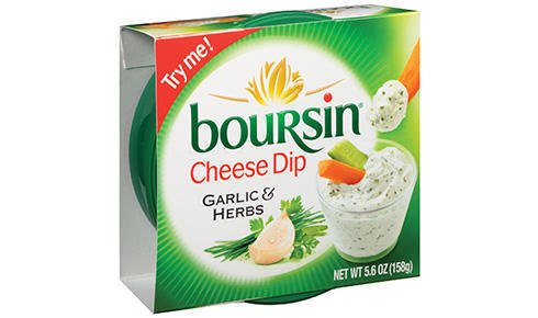 Cheese Spread, Boursin® Garlic and Herbs, 5.6 oz Tub