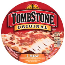 Pizza, Tombstone® 4 Meat Pizza (22.1 oz Box)
