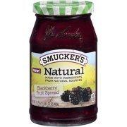 Fruit Spread, Smucker's® Natural Blackberry Fruit Spread (17.25 oz Jar)