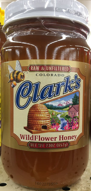 Honey, Clark's® Local Colorado Honey (23 oz Jar)