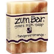 Soap, Zum Bar® Tangerine-Orange Goats Milk Soap (3 oz Bar)