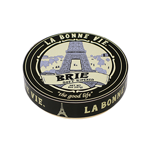 Cheese, La Bonne Vie® Brie Cheese, 8 oz Wheel