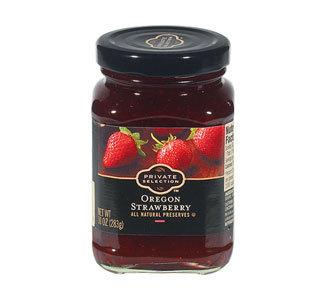 Fruit Spread, Private Selection® Oregon Strawberry Preserves (10 oz Jar)