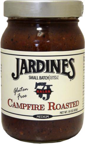 Salsa, Jardines® Campfire Roasted Salsa, Mild (16 oz Jar)