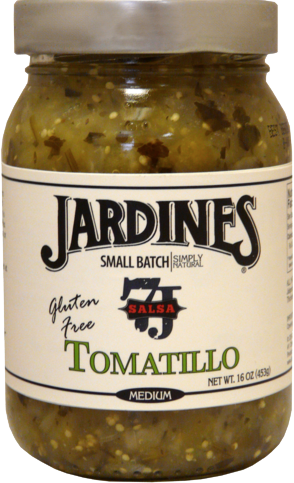 Salsa, Jardines® Tomatillo Salsa, Medium (16 oz Jar)