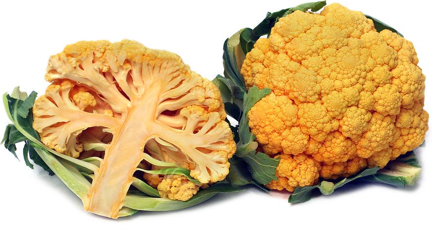 Produce, Vegetable, Cauliflower, Orange, Priced per Pound