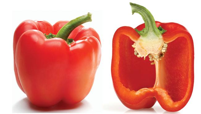 Fresh Bell Pepper, Organic Red Bell Peppers (Priced Each)