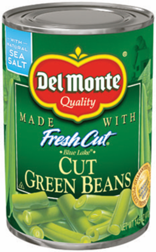 "Canned Green Beans, Del Monte® ""Fresh Cut"" Green Beans (14.5 oz Can)"