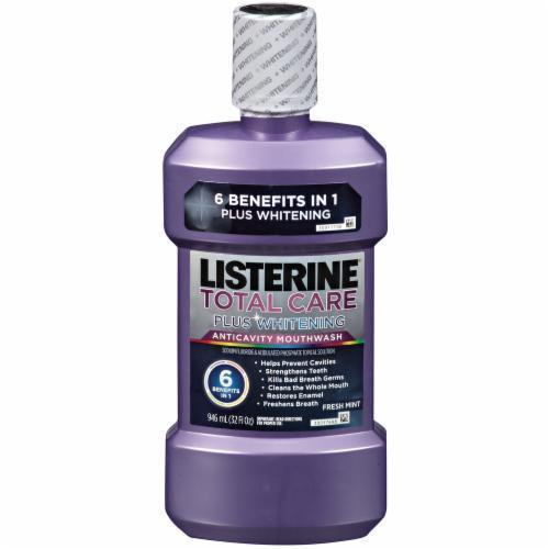 Mouthwash, Listerine® Total Care Plus Whitening Freshmint Mouthwash (946 ml Bottle)