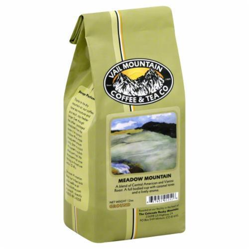 Ground Coffee, Vail Mountain Coffee® Meadow Mountain Blend™ Ground Coffee (12 oz Bag)