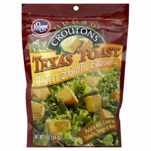 Salad Croutons, Kroger® Texas Toast Croutons (5 oz Bag)