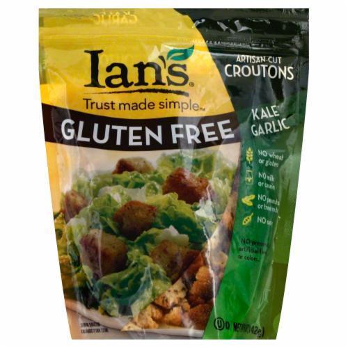 Salad Croutons, Ian's® Gluten Free Kale Garlic Croutons (5 oz Bag)
