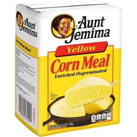 Corn Meal, Aunt Jemima® Yellow Corn Meal (5 Pounds, 80 oz Bag)