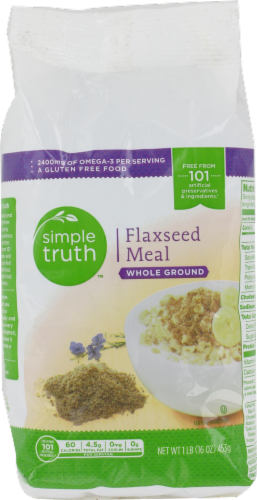 Flaxseed, Simple Truth™ Flaxseed Meal (16 oz Bag)