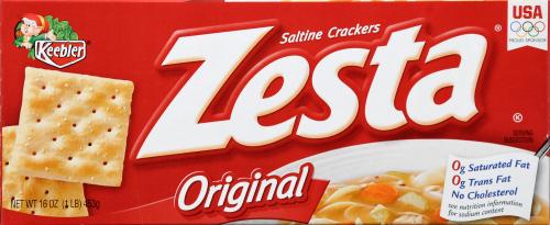 Saltine Crackers, Zesta® Original Saltine Crackers (16 oz Box)