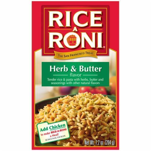 Rice, Rice A Roni® Herb & Butter Flavored Rice (7.2 oz Box)
