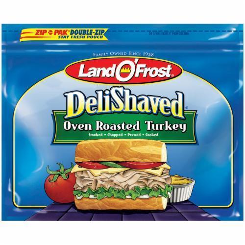 Ham, Land O'Frost® Deli Shaved Black Peppered Ham (9 oz Bag)