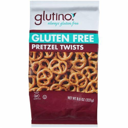 Pretzels, Glutino® Gluten Free Pretzel Twists (8 oz Bag)