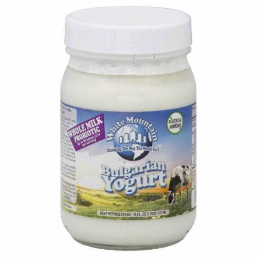 Yogurt, White Mountain® Bulgarian Yogurt (16 oz Jar)