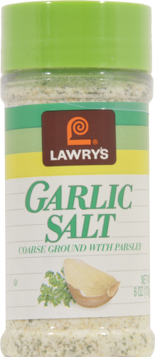 Seasonings, Lawry's® Garlic Salt (6 oz Jar)