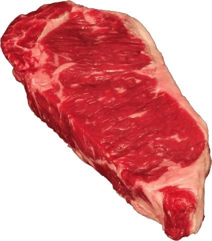 Meat, Boneless Beef Strip Steak (16 oz Steak)