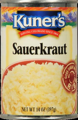 Canned Sauerkraut, Kuner's® Sauerkraut (14 oz Can)