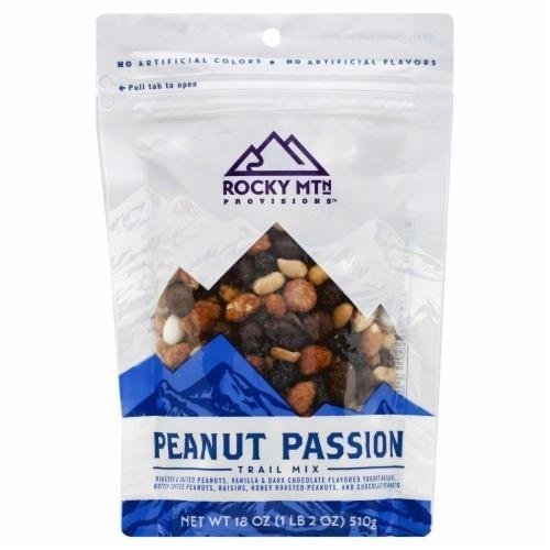 Snack, Rocky Mountain Provisions® Peanut Passion™ Trail Mix (18 oz Bag)