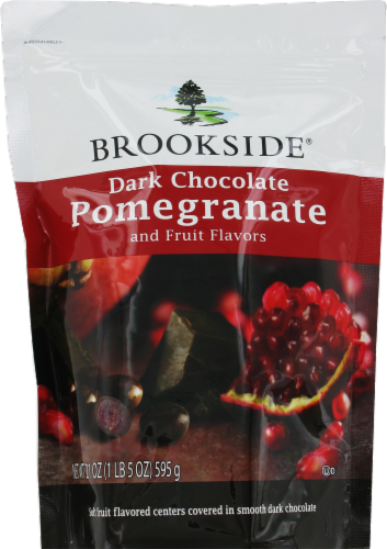 Pomegranate, Brookside® Dark Chocolate with Pomegranate (21 oz Bag)