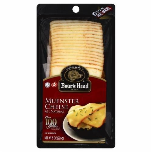 Deli Cheese, Boar's Head® Sliced Muenster Cheese (8 oz Bag)