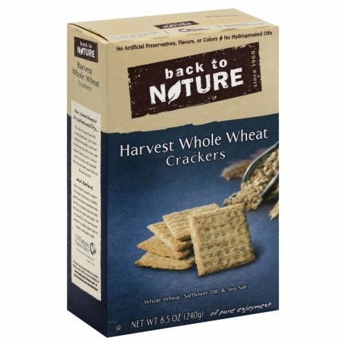 Trail Mix, Back To Nature® Harvest Whole Wheat Crackers (8.5 oz  Box)