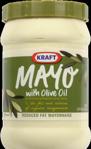 Olive Mayonnaise, Kraft® Olive Oil Mayo Mayonnaise (30 oz Jar)
