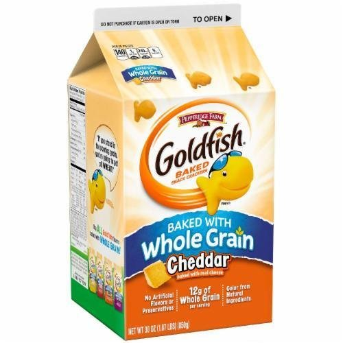 Goldfish Crackers, Pepperidge Farm® Goldfish® Whole Grain Crackers (30 oz Carton)