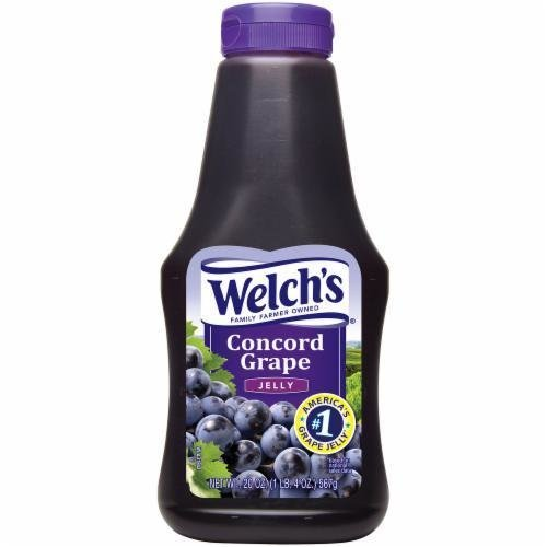 Fruit Spread, Welch's® Concord Grape Jelly (20 oz Bottle)