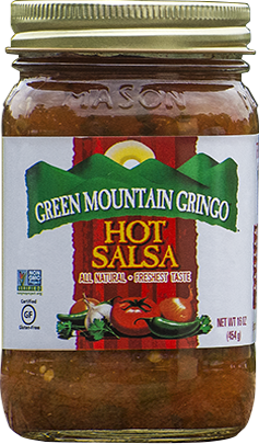Salsa, Green Mountain Gringo® Hot Salsa (16 oz Jar)