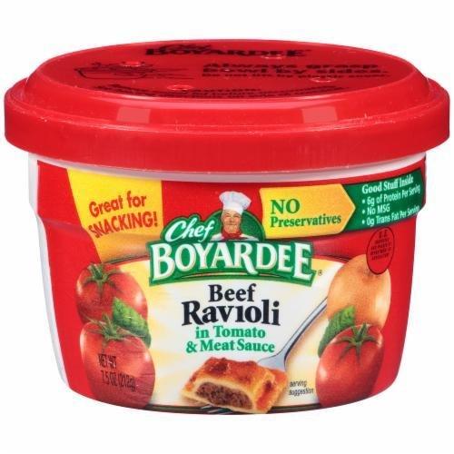 Ravioli, Chef Boyardee® Beef Ravioli (7.5 oz Cup)