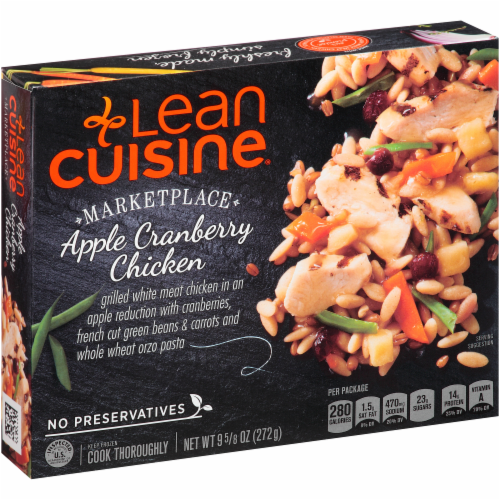 Frozen Dinner, Lean Cuisine® Marketplace™ Apple Cranberry Chicken (9.625 oz Box)