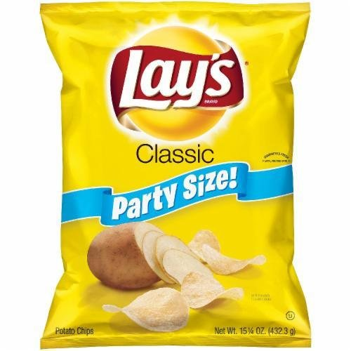 "Potato Chips, Lay's® ""Party Size"" Classic Potato Chips (15.25 oz Bag)"