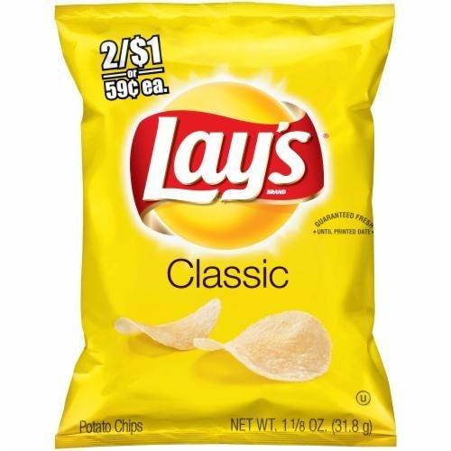 "Potato Chips, Lay's® ""Lunch Size"" Classic Potato Chips (1.13 oz Bag)"